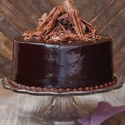 Picture of Rich Ganache Chocolate Cake