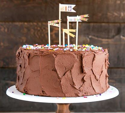 Picture of Classic Birthday Cake