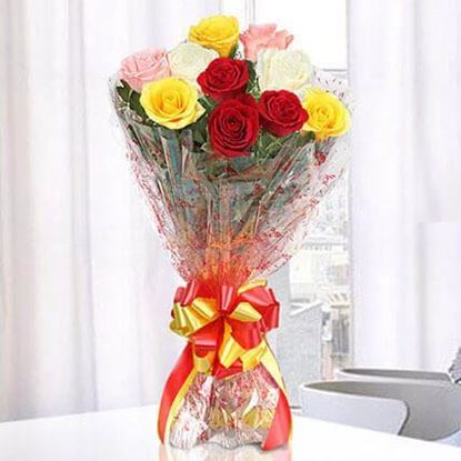 Picture of Mix  Roses Bouquet